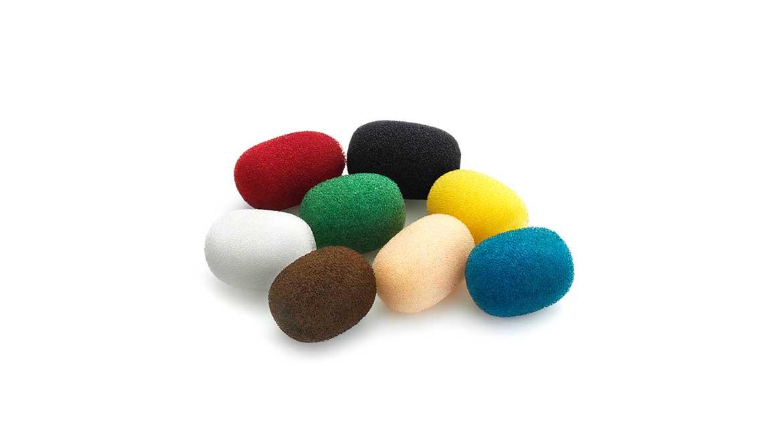 Bonnettes micro Lavalier, Mix de couleurs (DUA0570)