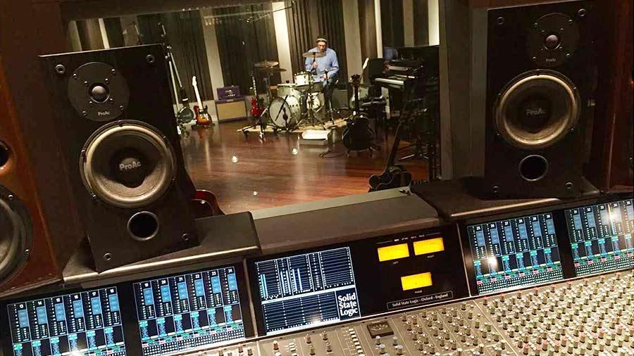 Enregistrement avec des micros DPA dans Germano Studio