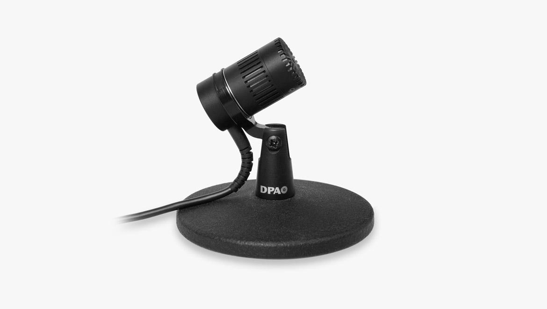 4018 Micro directionnel sur table, XLR