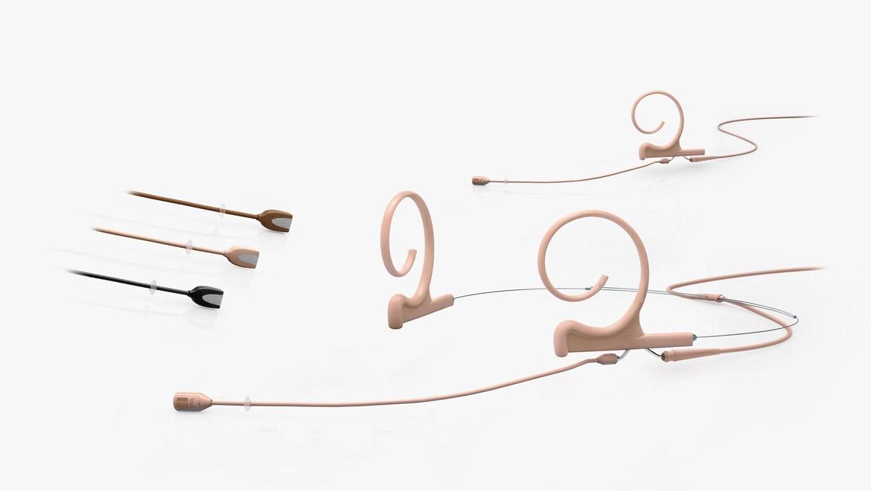 Microphone directionnel flexible pour casque et oreillette